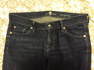 7 for all mankind jeans womens 30 x 33