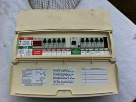 MK Fuse box with 2 RCDS 10 mcbs
