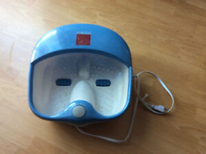 FOOT SPA MASSAGER WITH 2 ROLLERS - HO MEDICS