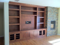 Custom Cabinetry And Finish Carpentry