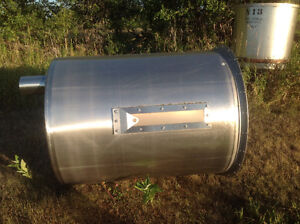 Water/honey/syrup stainless tank