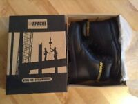 Brand new safety steel cap boots