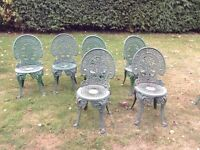 Cast Iron Patio/Garden/Outdoor Furniture - whole set or individual items