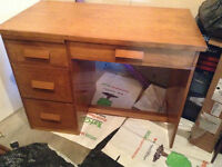 Handmade Desk Perfect for a Handsome and Tall Lefty