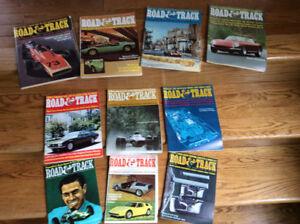 Lot of 10 Road & Track Magazines from 1968