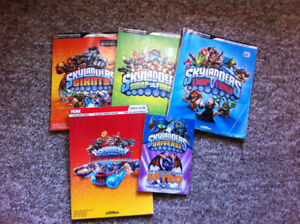 Skylanders Official Guides Lot & Chapter Lot