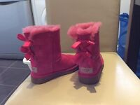 Girls Bailey Bow UGG boots Genuine