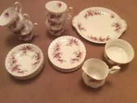 Royal Albert bone china teaset