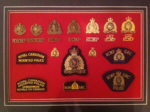 RCMP -NWMP Badges,Patches Wanted
