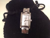 Hugo Boss stainless Steel ladies watch. Good condition