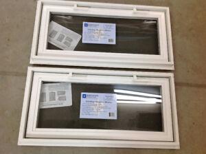 Two new windows