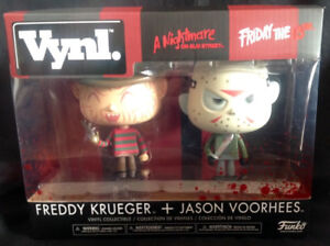 Jason and Freddy Funko Vynl Two Pack