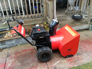 Snowblower 8hp
