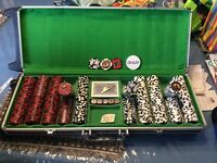 POKER SET BIG GAME CAMO EDITION