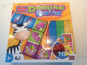 As new MEGA BLOKS Domino Build Game