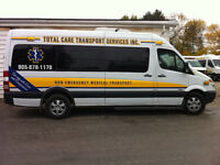 Up to full time hours, Non Emergency Medical Transfer Company