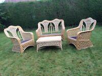 4 Piece Conservatory Furniture Set