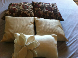Lot of 5 Throw Cushions Strathcona County Edmonton Area image 1