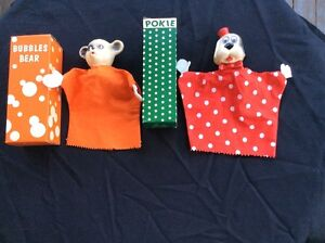 Vintage Hand Puppets
