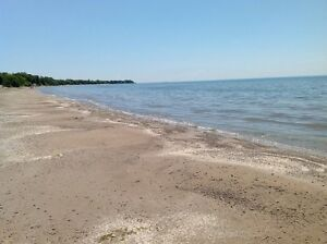 Last min deal cottage private beach Lake Erie plus bunkie