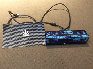 XBOX ONE KINECT with 2 vinyl skins