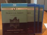 COFFRET DOWNTON ABBEY 1 2 3 BRay
