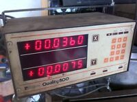 DRO digital readout for milling machine