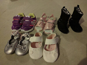 Girls Shoes - Size 3 and 4 Cambridge Kitchener Area image 1