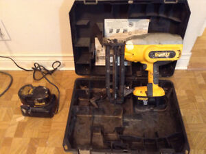 Cordless Dewalt Finish Nailer