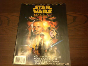 The official souvenir magazine star wars episode 1