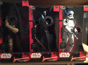 Star Wars Disney talking figures