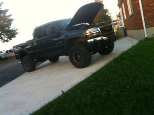 Gmc Sierra 2500hd twin turbo lbz Duramax