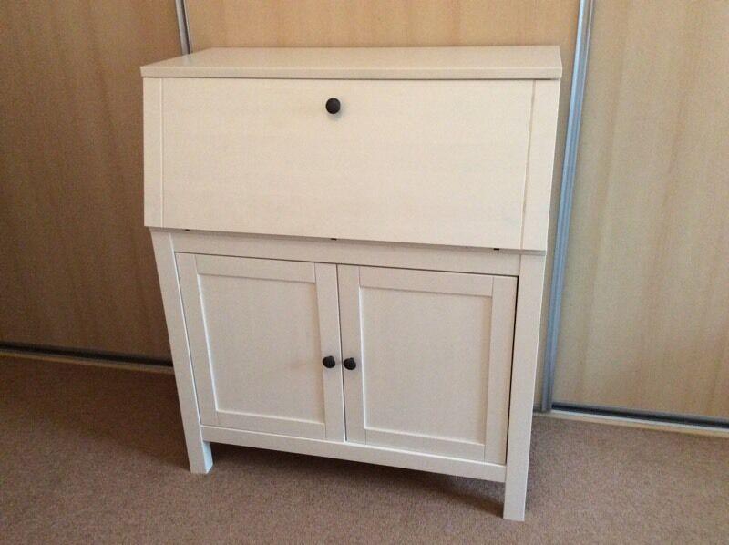 White bureau style ikea desk in shirley west midlands gumtree