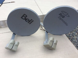 Bell Express HD Sat Dishes