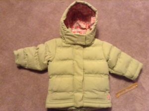 Brand new with tags OshKosh winter coat 12M