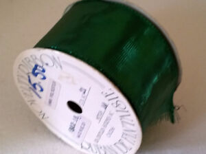 Large roll of metallic green wide ribbon Brand New London Ontario image 3