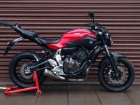 Yamaha MT-07 MT07 ABS 2015. Only 2801miles. Nationwide Delivery Available.