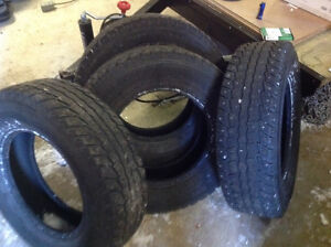 225/75R16 Winter Studded Tires