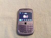 Violet Blackberry Curve 8520