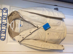 *REDUCED* NWT LARGE OFF-WHITE LADIES COLUMBIA WINTER JACKET COAT