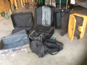 Assorted Luggage For Sale $5.00 to $15.00