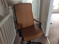 Brown Leather new style office chair