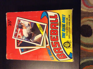 1988 OPC Baseball Wax Box