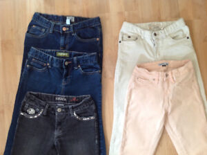 Girl's size 10 pants/jeans