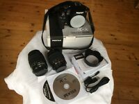 Pentax K-x 12.4MP Digital SLR camera + lenses