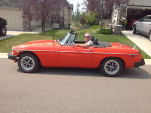 MGB 1979 Convertible must sell $9000