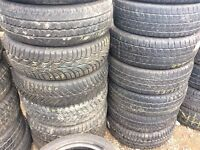 195/60/16c TYRE SHOP free fitting van Tyres Used partworn tire shop