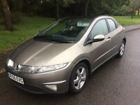 2006 Honda Civic 2.2.CDTI-12 months mot-6speed gearbox--service history-great economy-great value