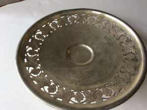 SILVERPLATED SERVING BOWL | CENTER PIECE PLATE