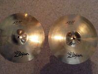 """Zildjian 14"""" New Beat Hi Hats (Brilliant)"""